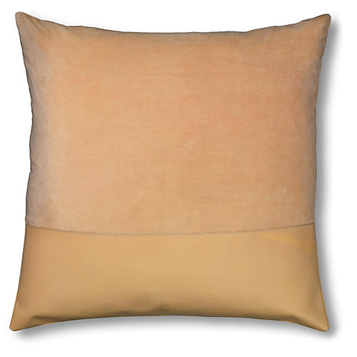 Aria 24x24 Pillow, Nude