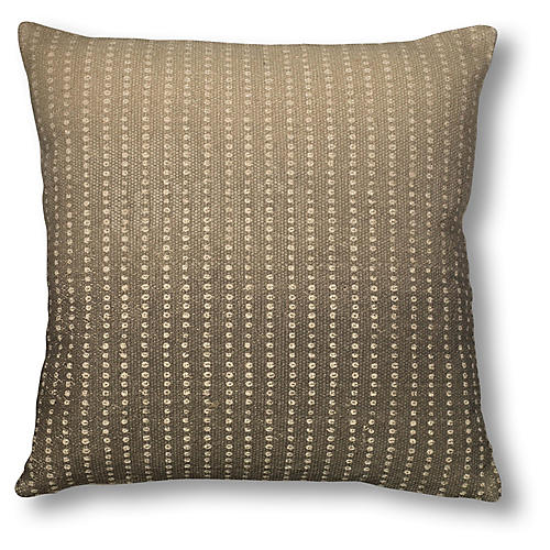 Manchita 18x18 Dots Pillow, Gray