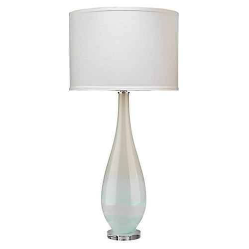Dewdrop Table Lamp, Sky Blue