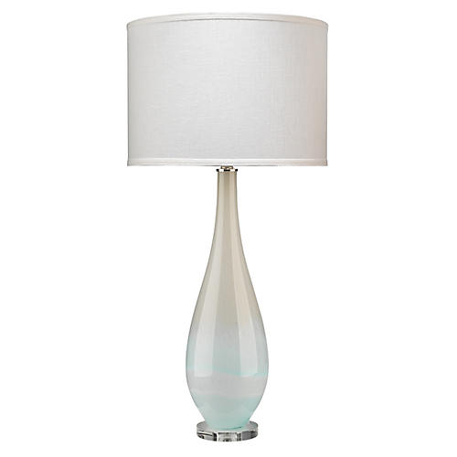 Dewdrop Table Lamp, Sky Blue