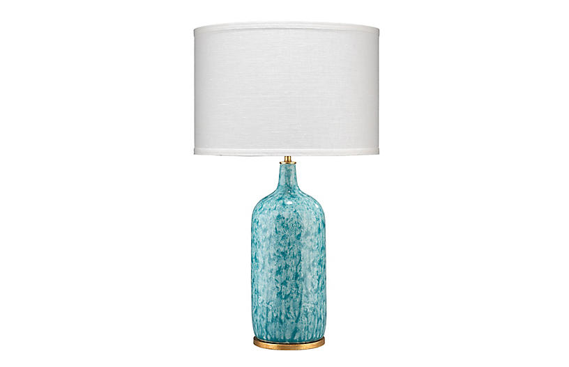 Madeline Table Lamp, Blue