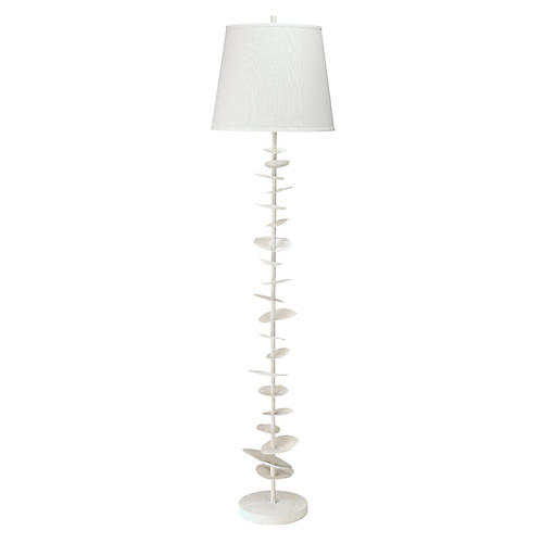 Petals Floor Lamp, White