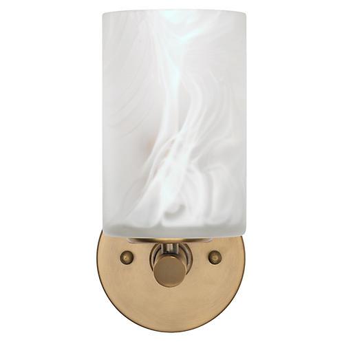 Streamer Sconce, White