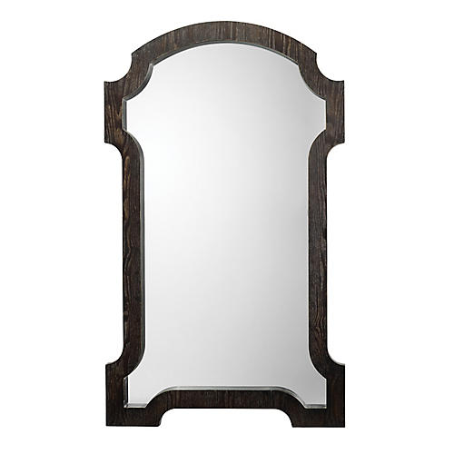 Estate Wall Mirror, Dark Gray