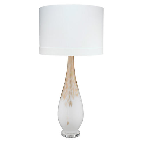 Dewdrop Table Lamp, Gold Ombré