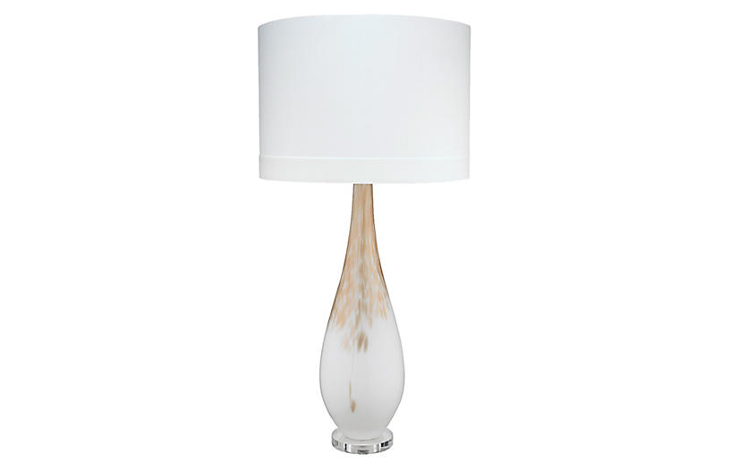 Dewdrop Table Lamp, Gold Ombré