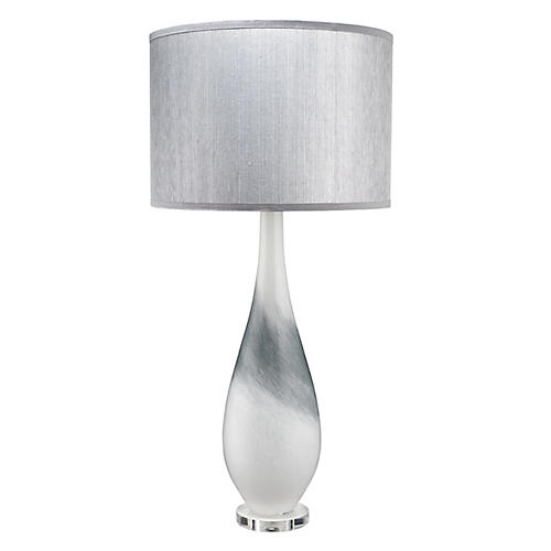 Dewdrop Table Lamp, Gray