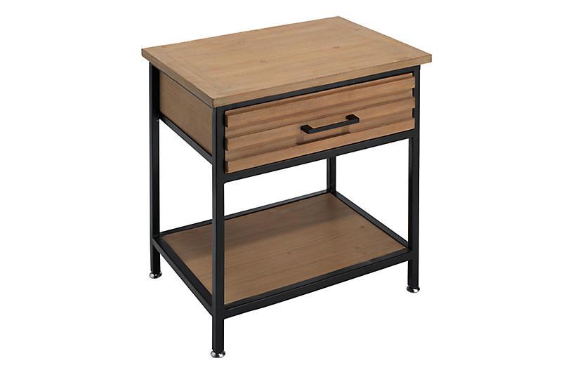 Jason Side Table, Natural