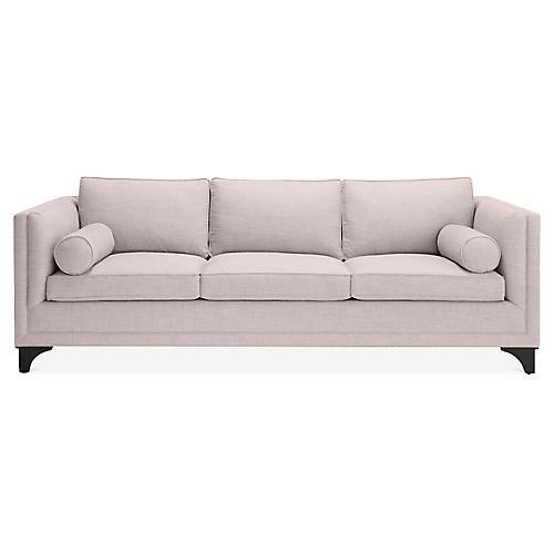 Downing Bolster Sofa, Lilac