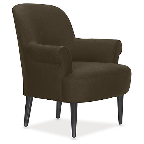 Pierce Accent Chair, Mink