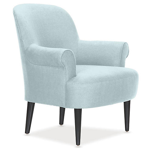 Pierce Accent Chair, Sky