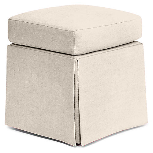 Russell Square Ottoman, Flaxseed