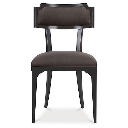 Worthington Side Chair, Charcoal