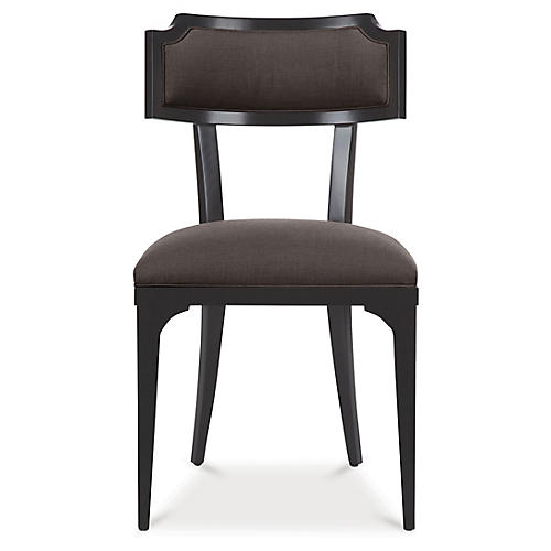 Worthington Side Chair, Charcoal