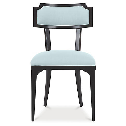 Worthington Side Chair, Pale Aqua