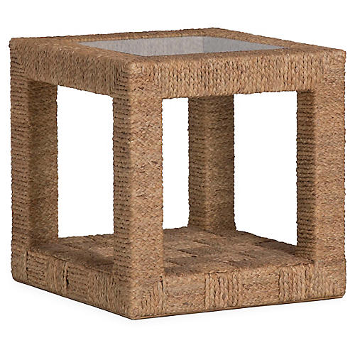 Bartlett Woven Side Table, Natural