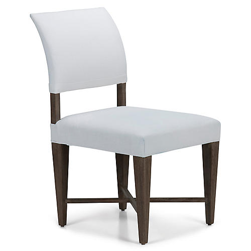 Jamie Mae High-Back Side Chair, White
