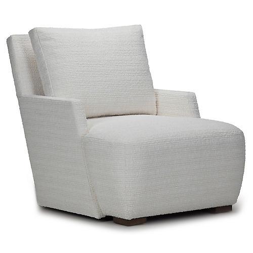 F. Scott Club Chair, Cream