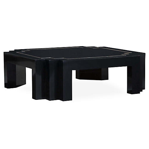 Mendall Coffee Table, Piano Black