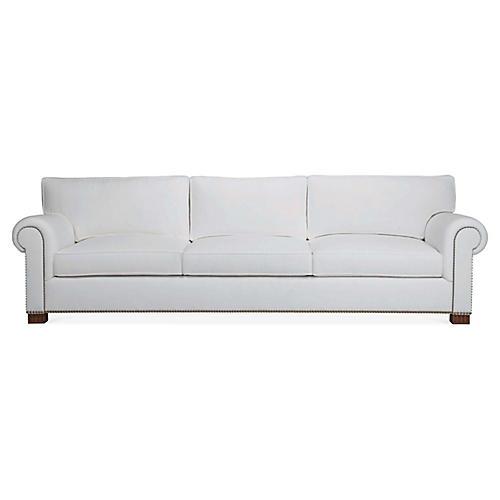 Jamaica II Sofa, White Linen
