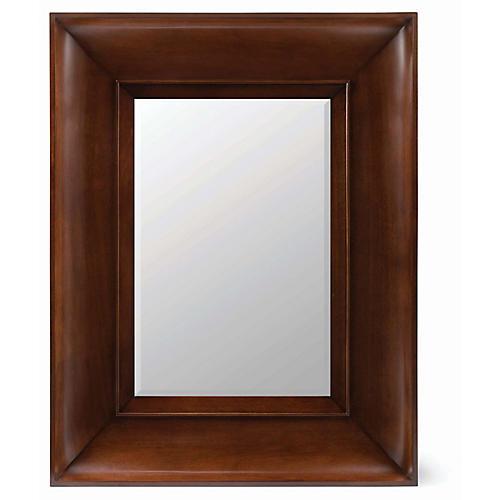 Elliot Wall Mirror, Medium Mahogany