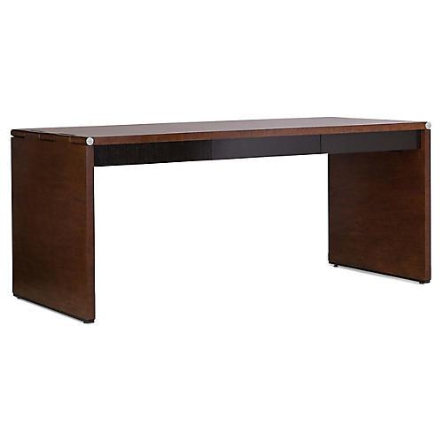 Barnes Desk, Estate/Ebonized Oak