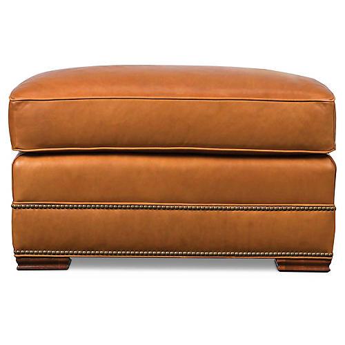 Errol Ottoman, Nutmeg Leather