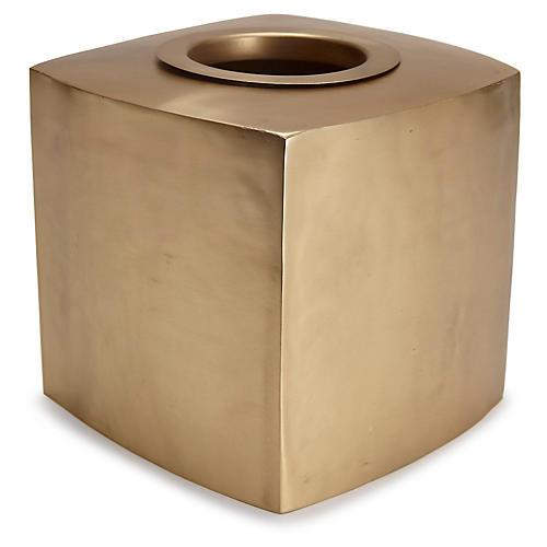 Nile Gold Tissue Holder, Gold