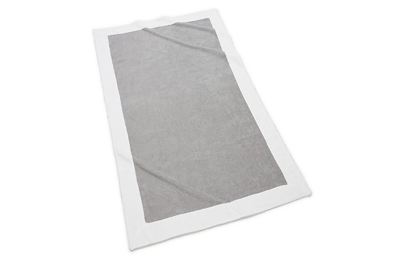 Capri Beach Towel, Grey