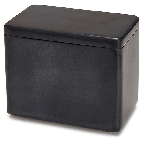 Noir Cotton Jar, Black