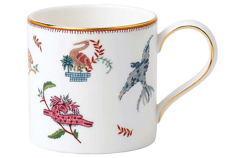 Mythical Creatures Mug, White/Multi
