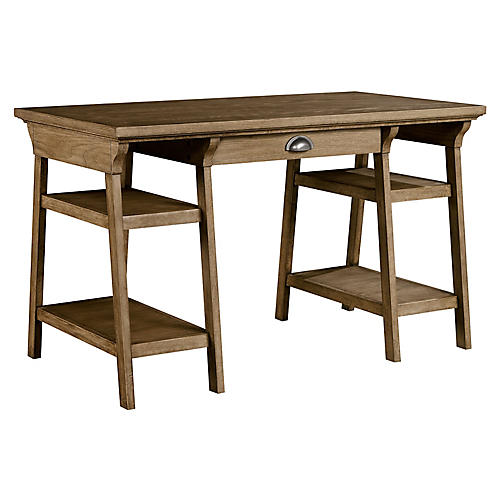 Driftwood Park Desk, Natural