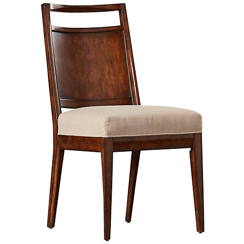 Holland Side Chair, Pecan