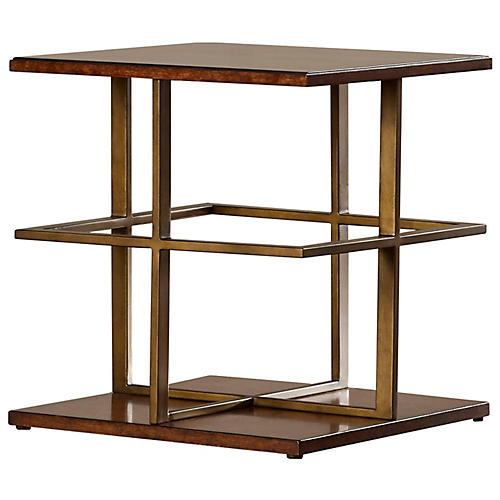 Holland Side Table, Pecan