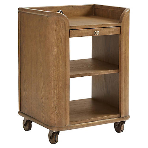 Driftwood Park Nightstand, Natural