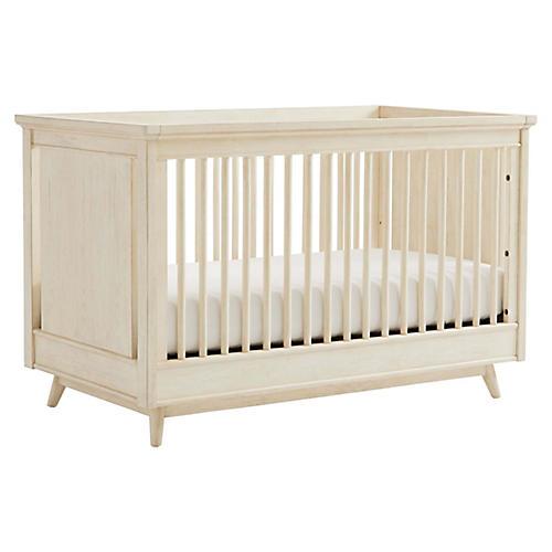 Driftwood Park Stationary Crib, Sand Oak
