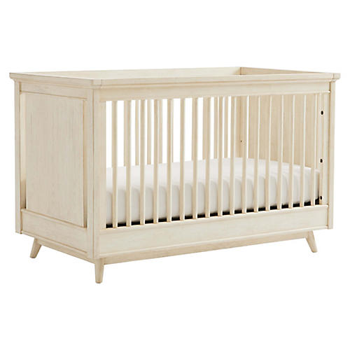 Driftwood Park Stationary Crib, Sand Oak