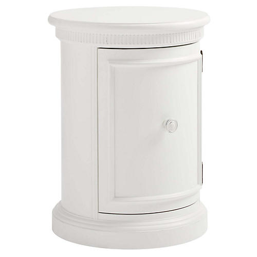 Smiling Hill Nightstand, White
