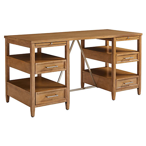 Chelsea Square Desk, Natural