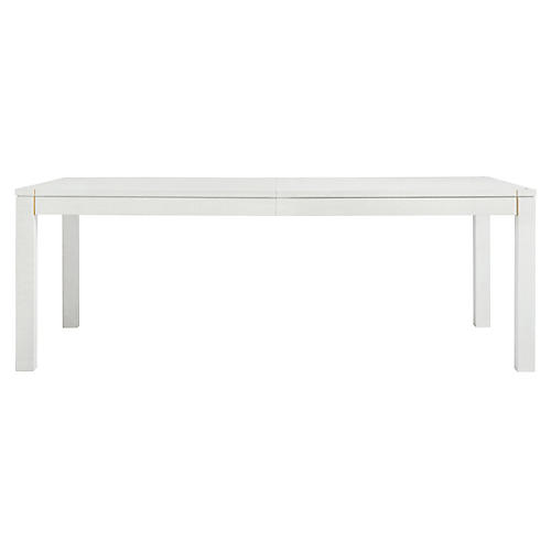 Archetype Dining Table, Alabaster
