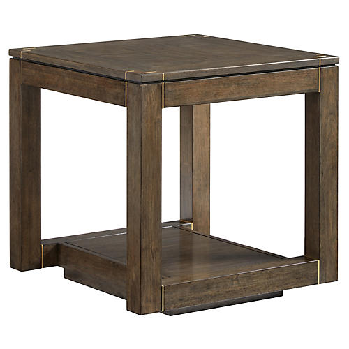 Panorama Parsons Side Table, Quicksilver