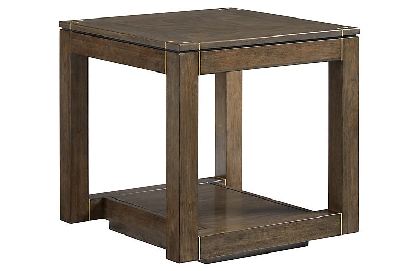 official photos f99e9 8dfb5 Panorama Parsons Side Table, Quicksilver