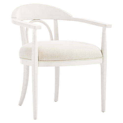 Panorama Studio Armchair, Alabaster
