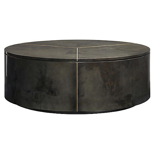 Sundial Coffee Table, Graphite