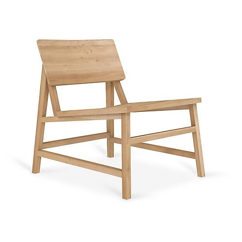 N2 Accent Chair, Oak