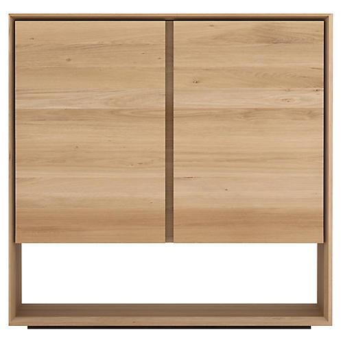 Nordic 2-Door Sideboard, Oak