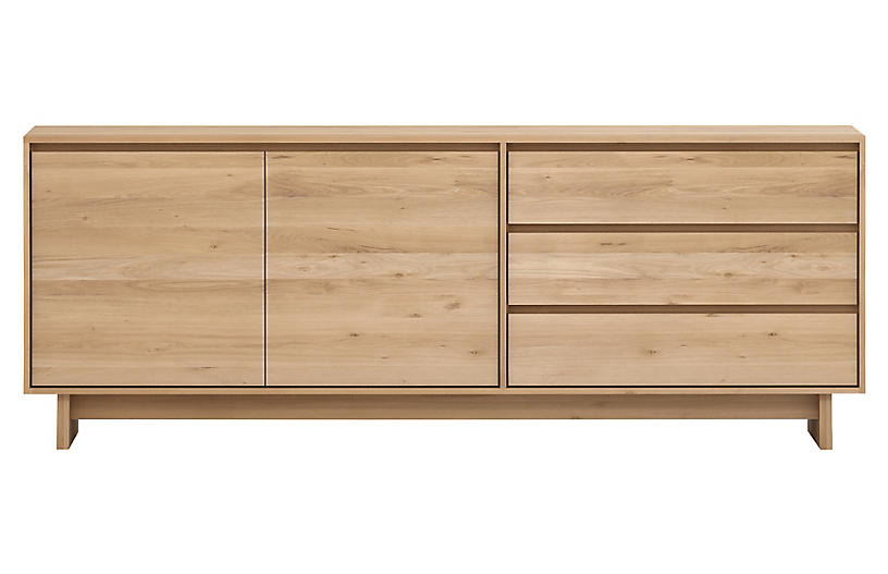 Wave Sideboard, Oak