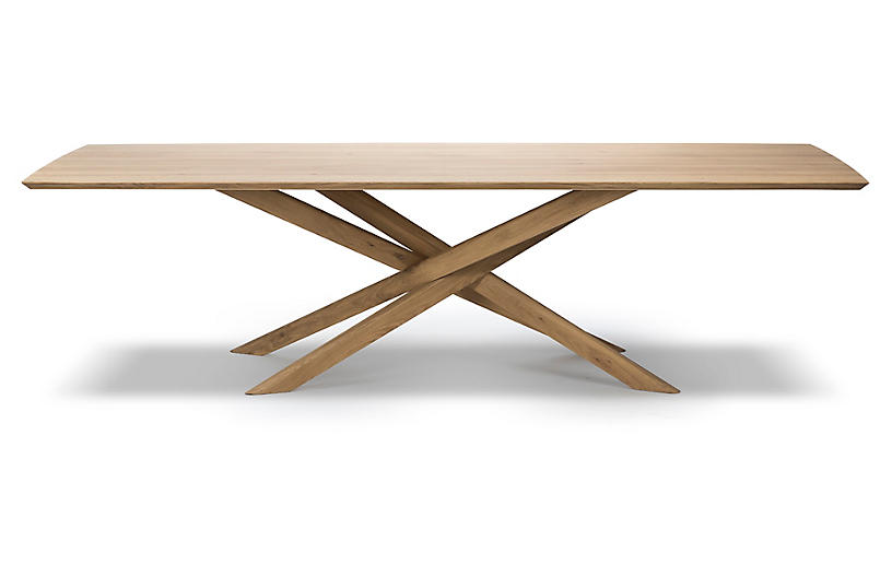 Mikado Dining Table, Oak
