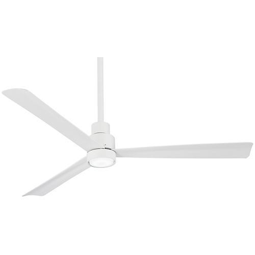 Simple Ceiling Fan, Flat White
