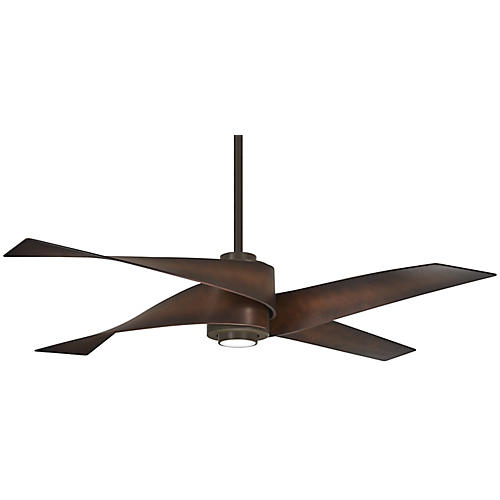 Artemis IV LED Ceiling Fan, Oil-Rubbed Bronze